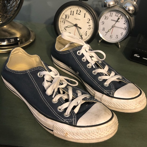 Converse Other - Blue converse  {PRICED LOW} worn only a few times
